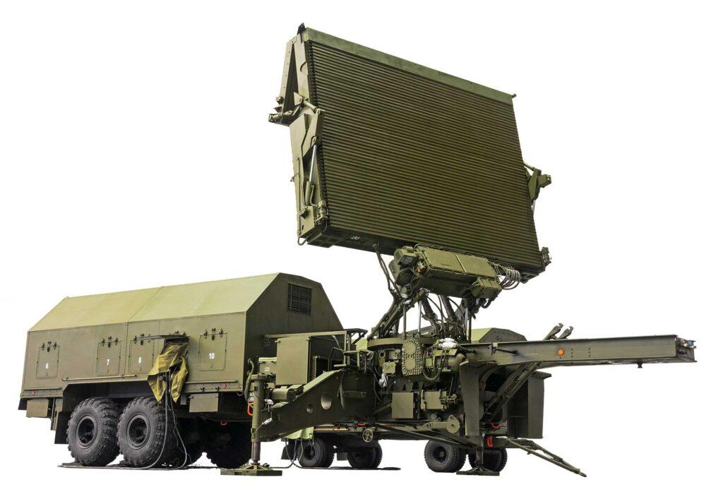 military radar for drone antenna measurements
