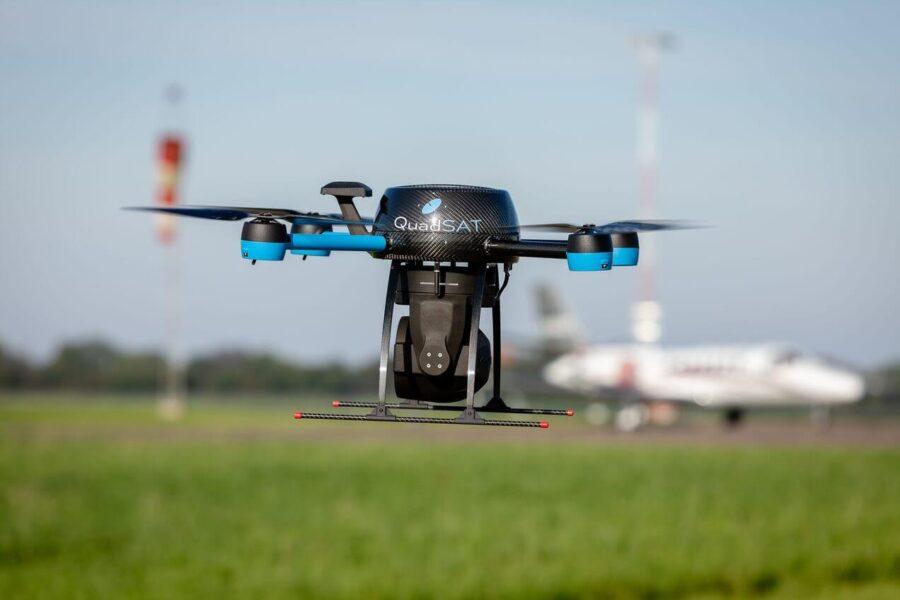 QuadSAT Drone Eucap