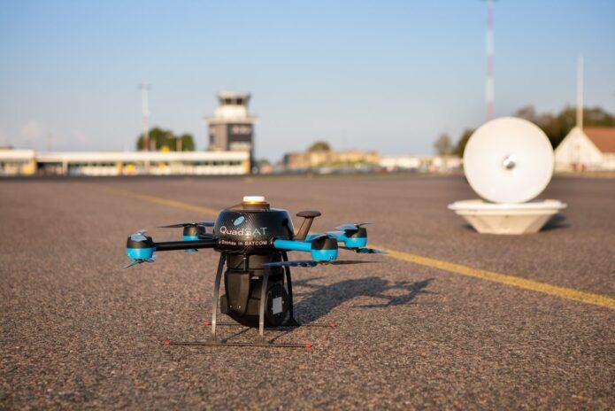 QuadSAT drone largest investment