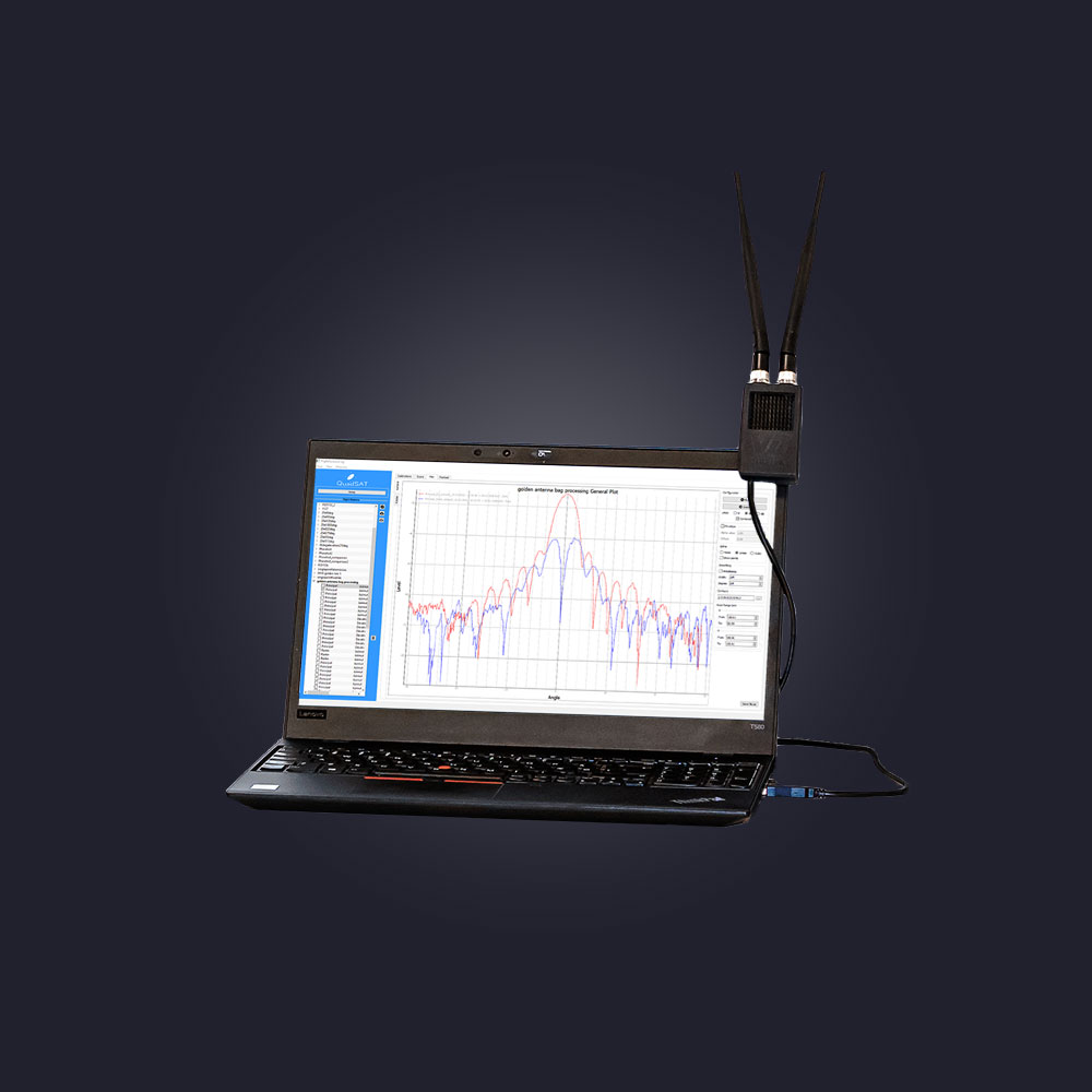 GCS for drone antenna measurement